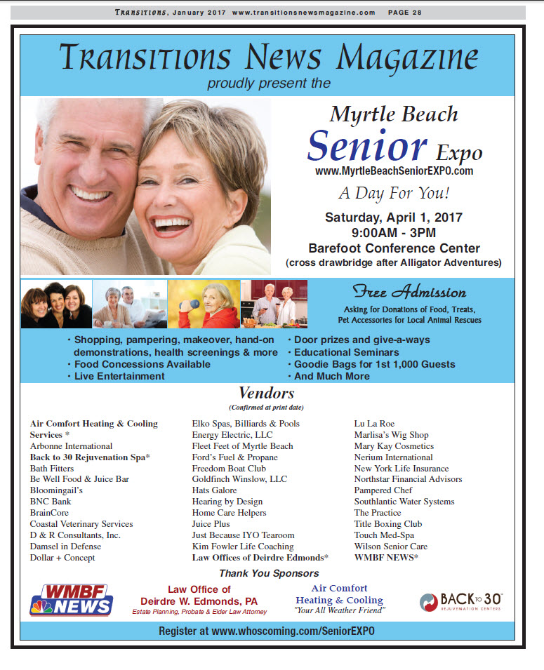 Senior EXPO Myrtle Beach SC